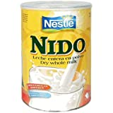 Nestle Nido Instant Milk Powder, 12.6-Ounce Tins (Pack of 4)