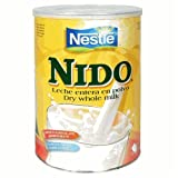 Nestle Nido Instant Milk Powder Fortified, 12.7-Ounce Tins (Pack of 4) ~ Nestle