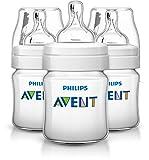 Philips Avent Classic+ Feeding Bottle SCF560/37 (125ml/4oz) x 3