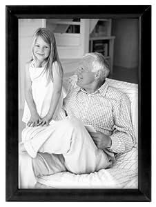 MCS Fashion 8 by 10-Inch Bullnose Frame, Black (40941)