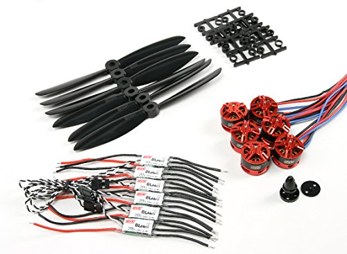 hobbyking-dys-250-300-class-be1806-2300kv-motors-w-dys-bl20a-opto-escs-and-6045-propeller-combo-diy-