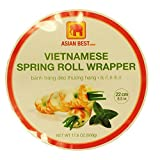 Asian Best Vietnamese Premier Spring Roll Rice Wrapper (3 Packs)