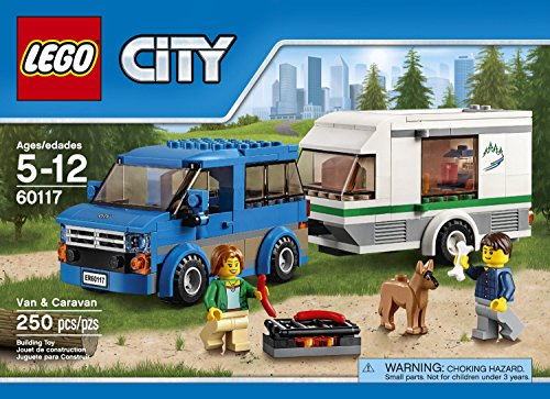 City Car LEGO 250 PCS Van & Caravan Brick Box Building Toys (Lego Truck And Camper compare prices)