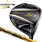 Cobra(コブラ) ドライバー S3 メ ンズ ドライバー フジクラ社製 コブラ・モトーレS3 9.5/S