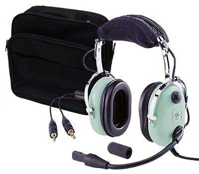 David Clark H10-13.4 Headset w/ David Clark Headset Bag by David Clark