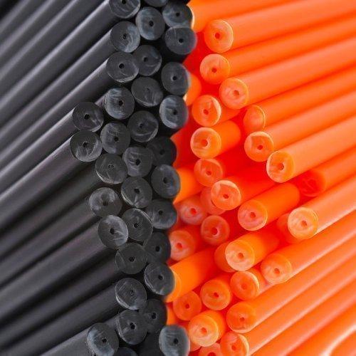 x-100-150mm-x-45mm-halloween-negro-y-naranja-plastico-color-palito-de-paleta-palitos-para-paletas-de