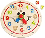 Hape - Happy Hour Clock - Time Learning Puzzle