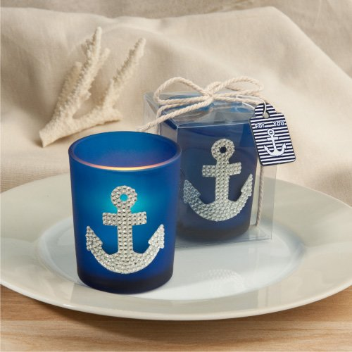 Spectacular Anchor Design Candle Favors , 25