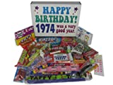 1974 40th Birthday Gift Basket Box Retro Nostalgic Candy From Childhood