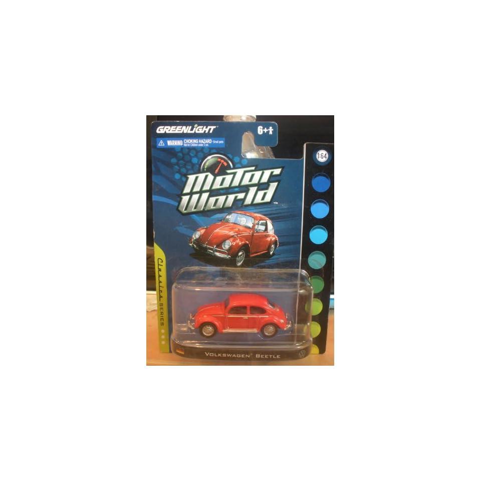 Greenlight Motor World Classic Series Volkswagen Beetle Red
