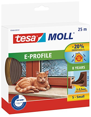 tesa-05464-00101-00-burlete-de-caucho-perfil-e-25-m-x-9-mm-color-marron