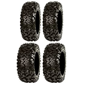 set of 4 atv tires - Full set of Sedona Rip Saw 25x8-12 and 25x10-12 ATV Tires (4)