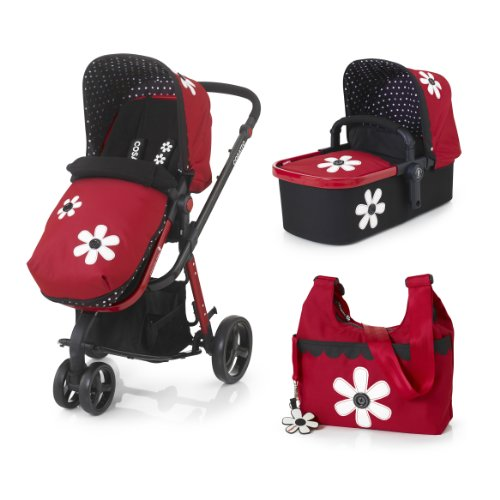Cosatto Giggle 3-in-1 Travel System Giggle Car Seat Compatible Special Edition (2013 Range, Bizzy Betty)