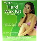 Andrea Hard Wax Kit for Face & Body