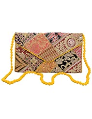 Rajasthani Handicrafted Multi Color Embroided Stylish Bag