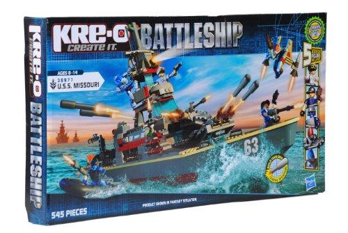 KRE-O Battleship U.S.S. Missouri Set (38977)(Discontinued by manufacturer) (Lego World War 2 Sets compare prices)