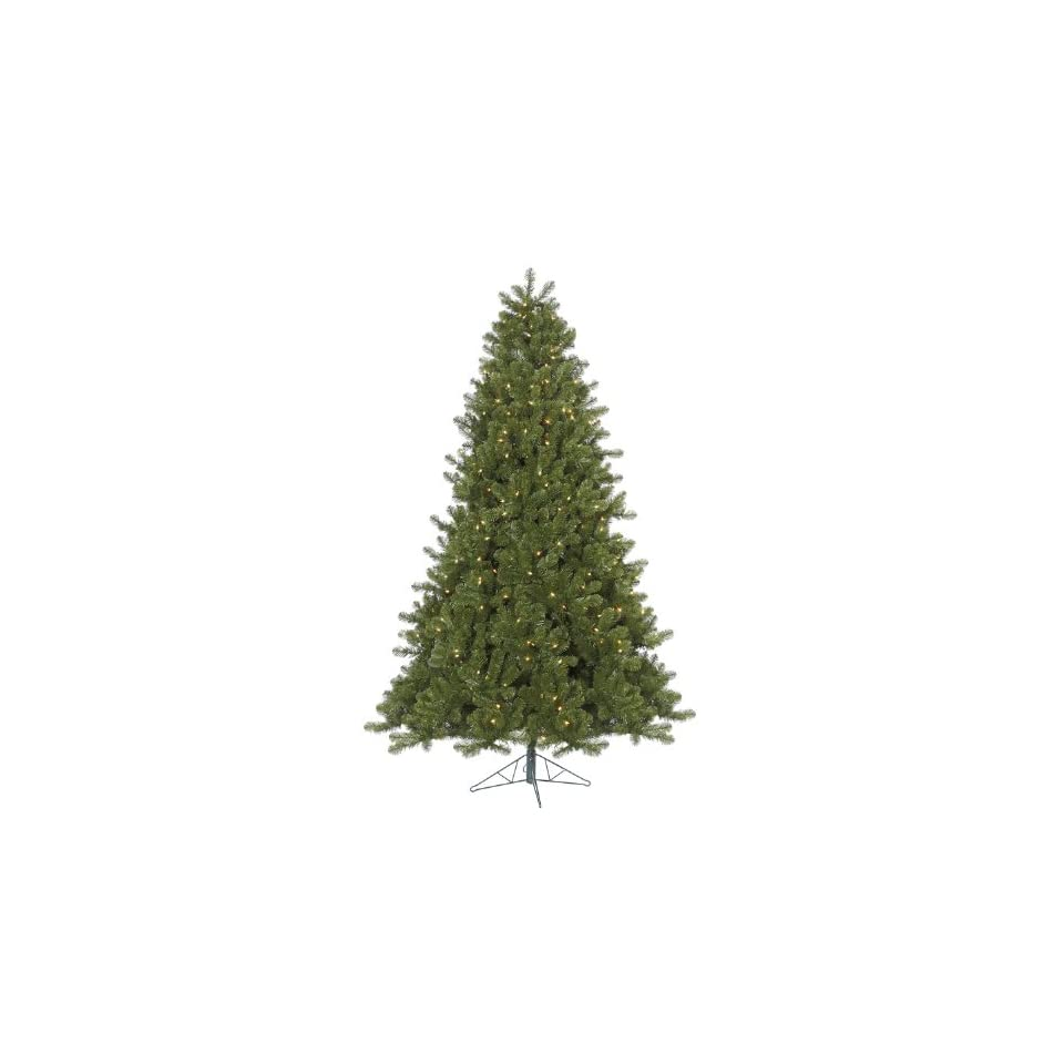 7.5 Pre Lit Ontario Spruce Artificial Christmas Tree  Multi Color Dura Lights