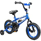 Tauki TM 12 inch Kid Bike BMX Bike With Removable Training Wheels, Boy's Bike, Girl's Bike, Kid's Gift, Blue , for 2-5 Years Old