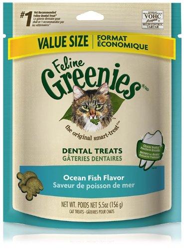 Feline Greenies 6oz Bag Ocean Fish