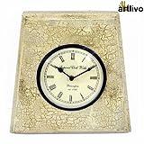 Artlivo Crackle Finished Clock WC030