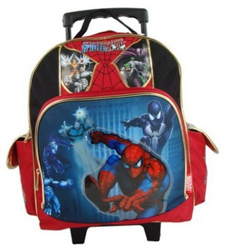 "Spiderman 12"" Toddler Rolling Backpack - Spider Sense"