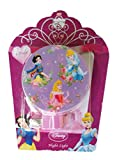 Disney Princess Night Light Purple Background Cinderella Belle Snow White