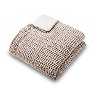 Ultra Plush Large Sherpa Blanket by Amadora