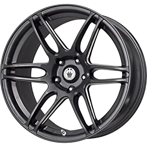 Konig Black Ball Cut Machined Wheel (17x7.5