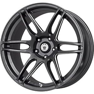 Konig Black Ball Cut Machined Wheel (17x7.5