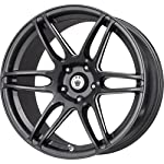 Konig Black Ball Cut Machined Wheel (18×8″/5×114.3mm)