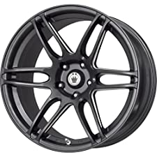 Konig Black Ball Cut Machined Wheel (17×7.5″/5×114.3mm)