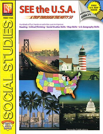 Remedia Publications See The USA - 1