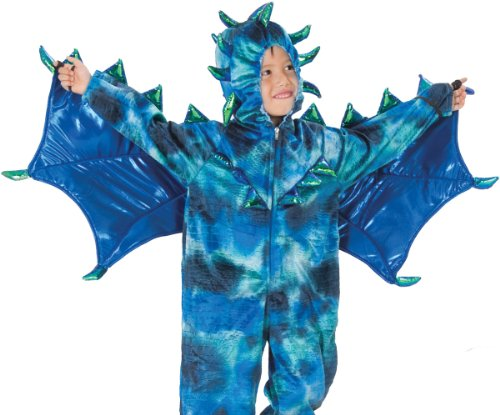 Boys Toddler Blue Dragon Medieval Halloween Costume