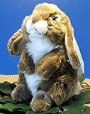 Zwergwidder Hase Kaninchen stehend braun18 cm