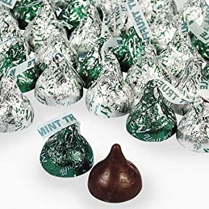 HERSHEY'S KISSES With Mint Truffle Filling - Candy & Name Brand Candy