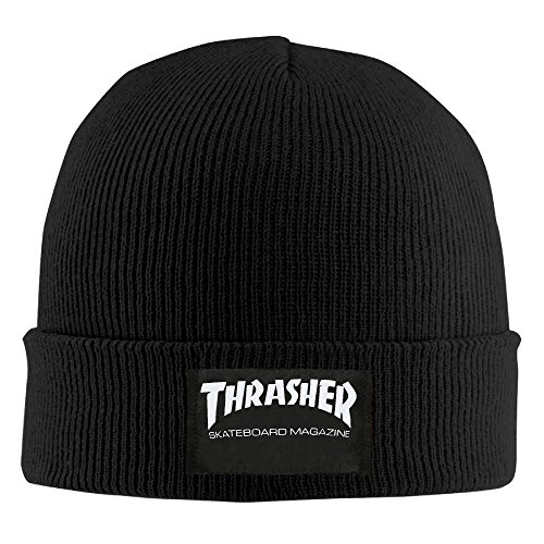 Thrasher Skateboard Magazine Knit Cap Stocking Beanie Hat (Thrasher Magazine Cap compare prices)