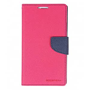 BS Mercury Goospery Fancy Diary Wallet Flip Cover for Samsung Galaxy A3 - Pink