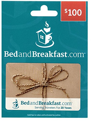 BedandBreakfast.com $100 Gift Card (Hotels Gift compare prices)