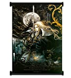 Castlevania Symphony of the Night Game Fabric Wall Scroll Poster (31