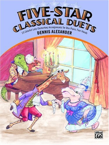 Five-Star Classical Duets (for Piano)