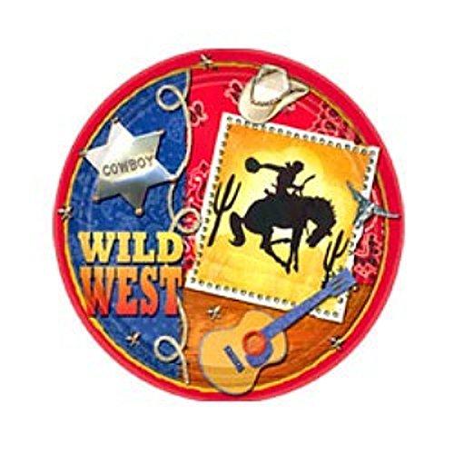 Wild Wild West Dessert Plates - 1