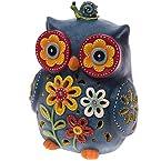Resin LED Owl Lamp