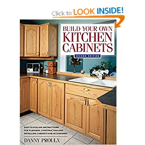Build your own kitchen cabinets popular woodworking for Amazon kitchen cabinets