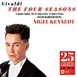 Vivaldi: The Four Seasons [25th Anniversary Edition Cd & Dvd] Nigel Kennedy