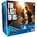 Console PS3 Ultra slim 500 Go noire + The Last of Us