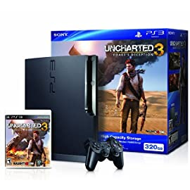 Playstation 3 Uncharted 3  320 GB Bundle