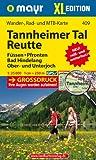 Mayr Wander- und Bikekarte Reutte, Tannheimer Tal. 1:25.000 (Großdruck)