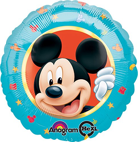 "Anagram International Mickey Portrait Foil Balloon Pack, 18"", Multicolor - 1"