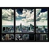 Nathan - 87461 - Puzzle - New York sur Fenêtre - 1000 pièces