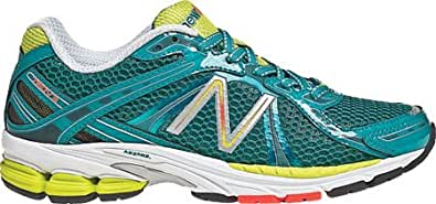 New Balance Women's W780v3,Teal/Lime Green,US 5 D